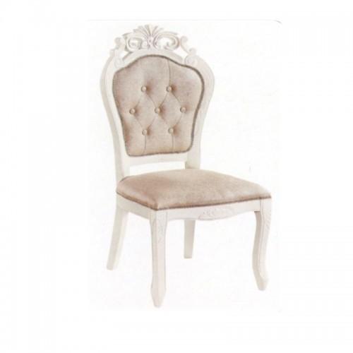 欧式田园餐椅软包靠背