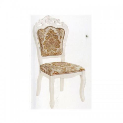 欧式现代简约雕花餐椅