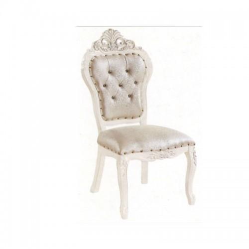 欧式餐椅简约休闲白色