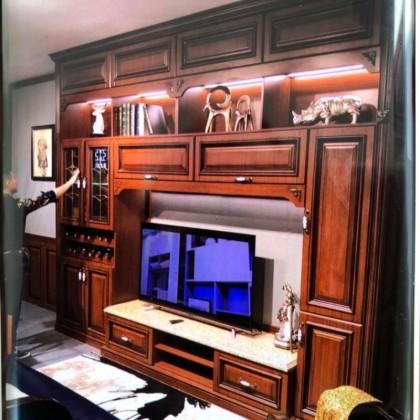 高端实木电视柜