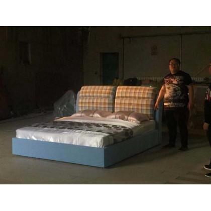 舒适拆洗小款布艺软床