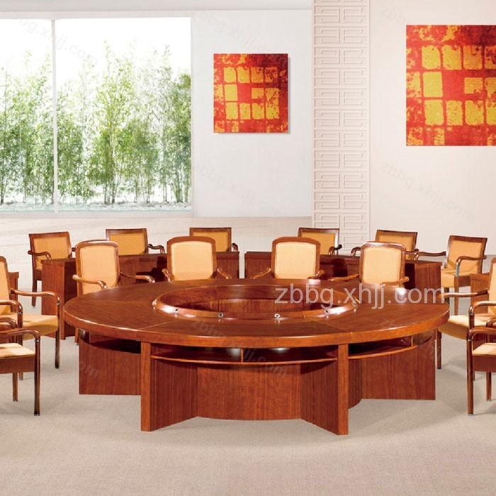 实木贴皮木皮油漆桌06