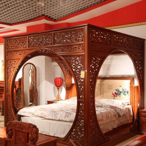 双人床卧室储物大床02