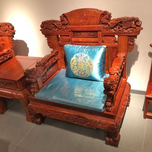 简约客厅中式红木客厅沙发04
