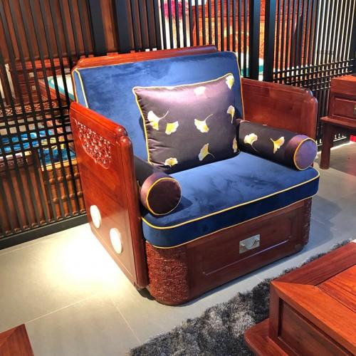 实木沙发客厅家具05