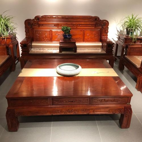 全实木客厅沙发红木沙发09