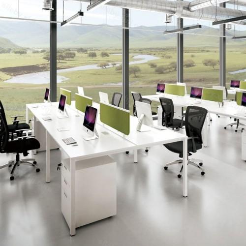 屏风隔断员工组合办公桌电脑桌26