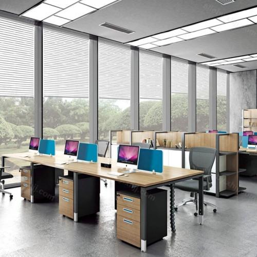 职员办公桌组合卡座屏风隔断电脑桌27