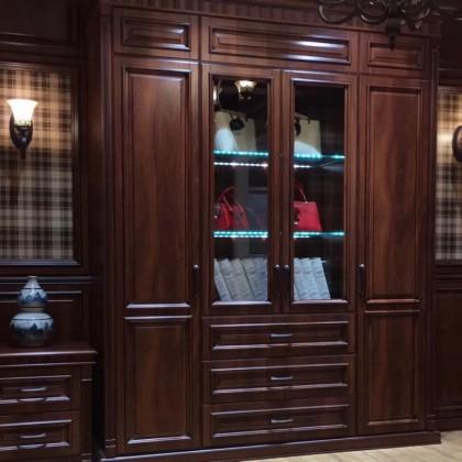 延吉市德洛尼衣柜、书柜、门厅柜