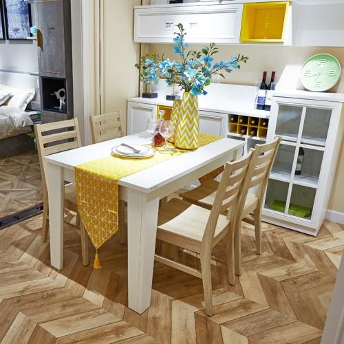 时尚简约餐厅橱柜餐桌组装家具01