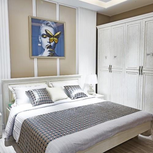 现代简约卧室套房家具01