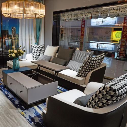 现代简约客厅沙发组合02