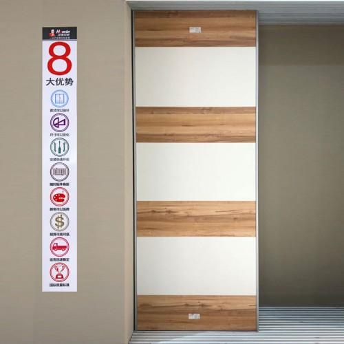 时尚现代推拉门衣柜门15