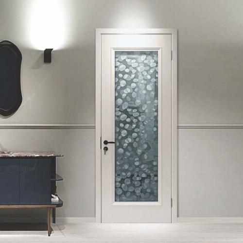 浴室磨砂玻璃木门BP45P-01B