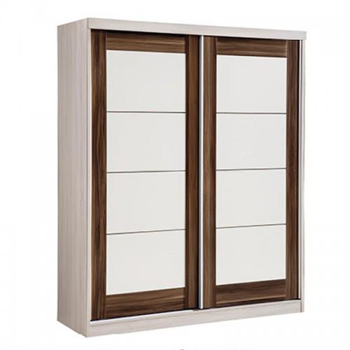 内推四格方框门衣柜HC2-MW106