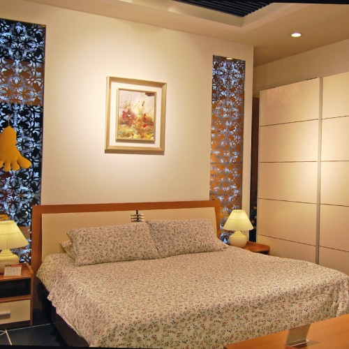 环保卧室床套房家具30