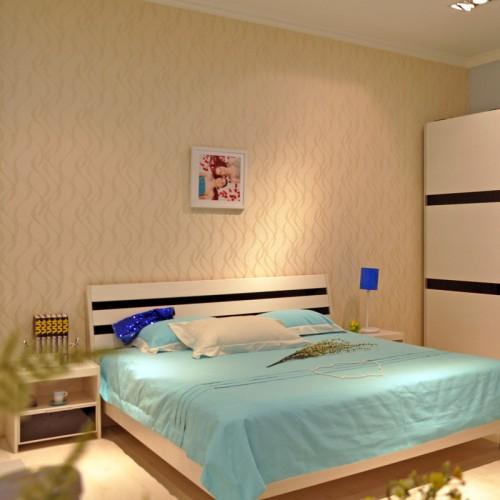 简约创意卧室套房家具33