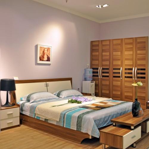 现代小户型卧室套房家