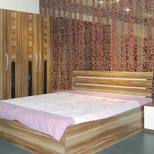 简约后现代主卧床卧室