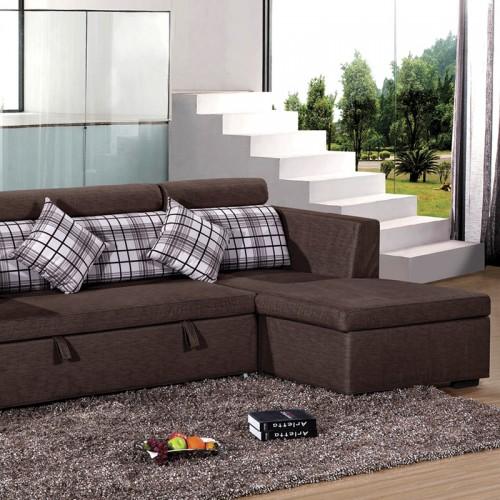 休闲沙发小户型客厅布艺沙发床HDSFC-01