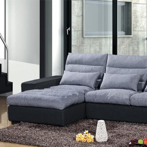 休闲沙发客厅布艺沙发HDMF-888