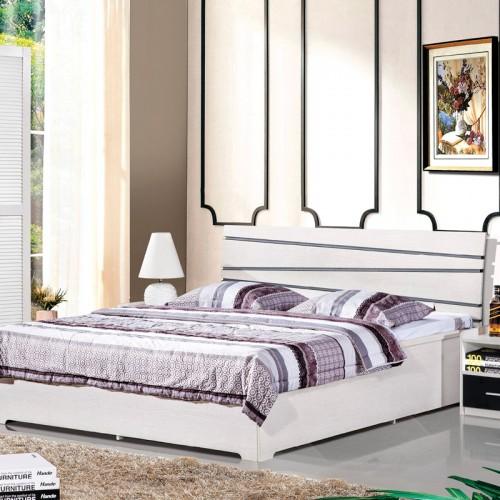 水洗白卧室双人床套房HA-21A