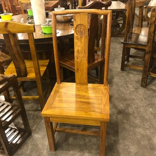 中式实木酒店餐椅11
