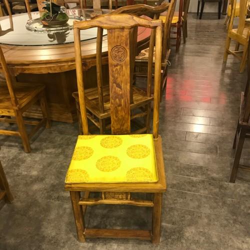 中式实木酒店餐椅10