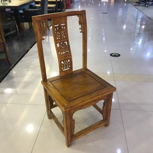 中式实木酒店餐椅05