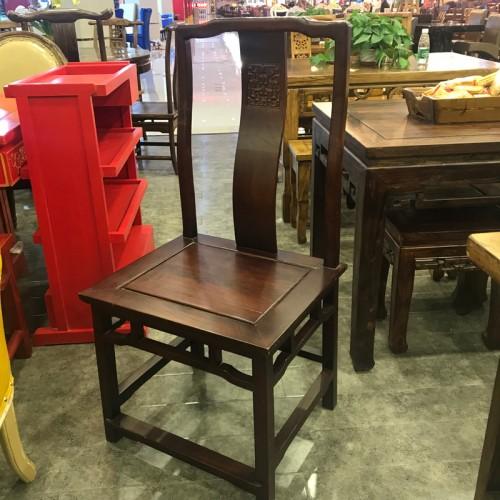 高靠背实木餐椅03