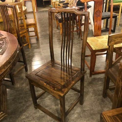 酒店实木餐椅01