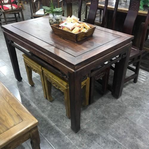 酒店实木长条桌03