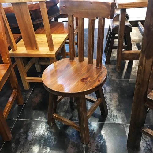 香河松木原生态餐椅07