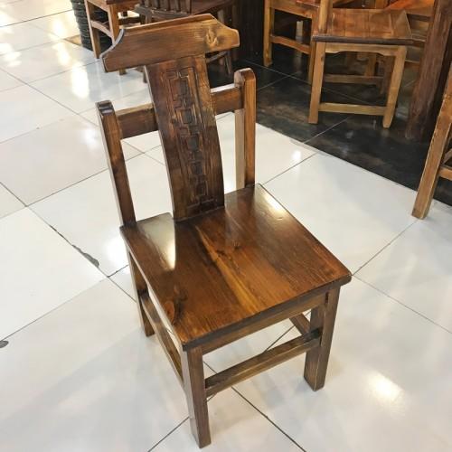 香河松木原生态餐椅05