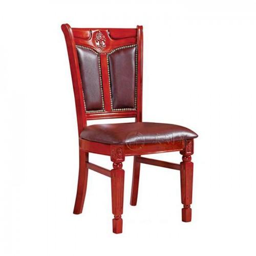 酒店餐椅软包靠背餐椅