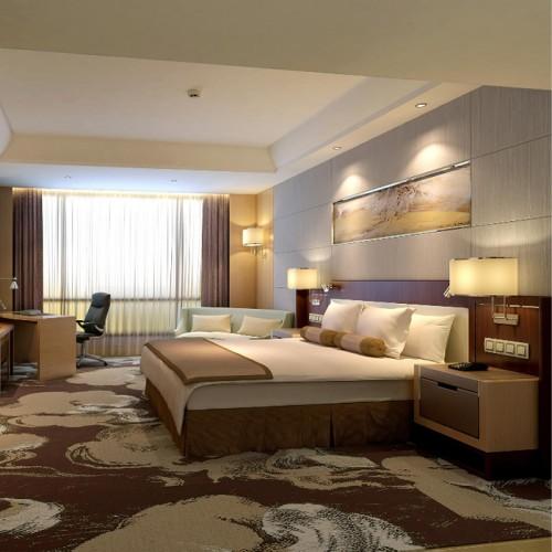 鑫瑞龙酒店卧室双人床