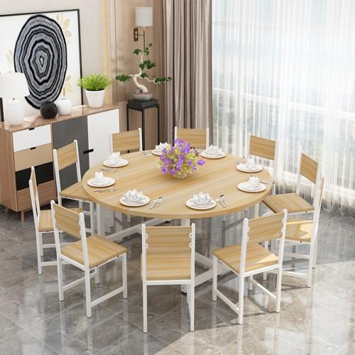 简约现代酒店圆形餐桌