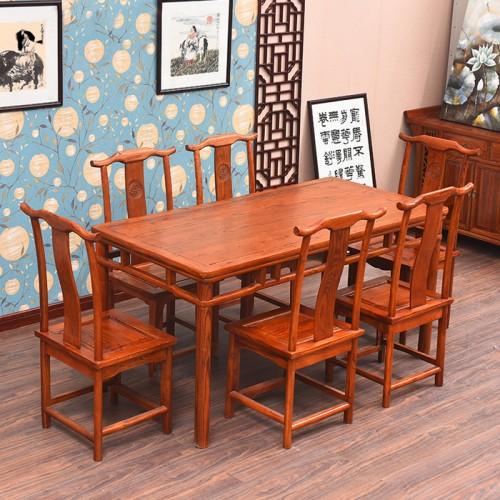 明清古典餐桌椅酒店餐