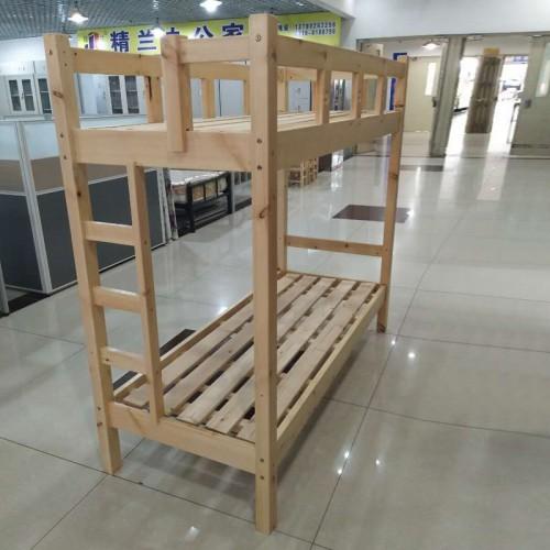 松木学生职员上下床高低床01