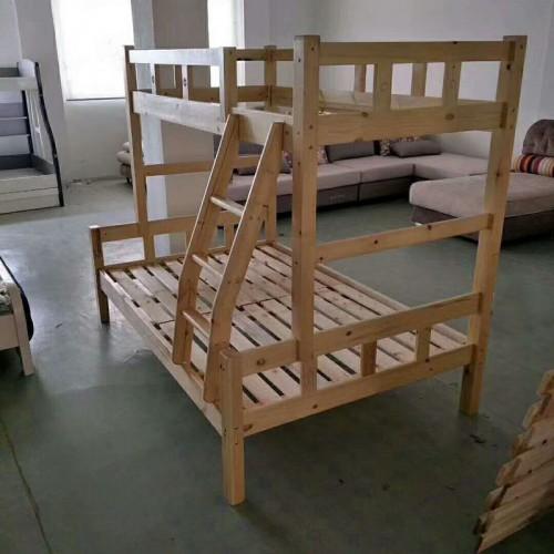实木上下床高低子母床