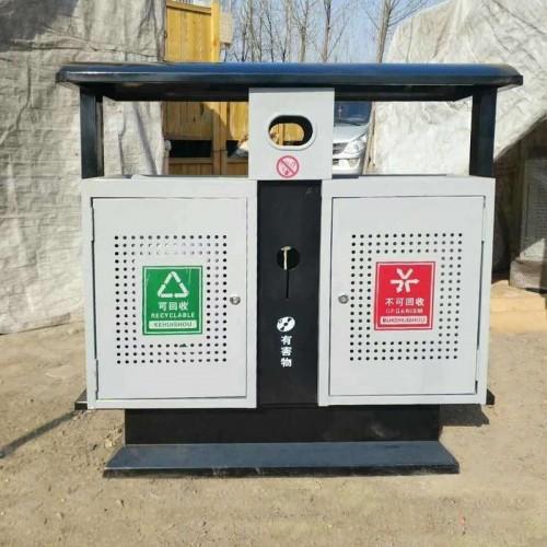 不锈钢户外垃圾桶果皮箱环卫垃圾桶 04