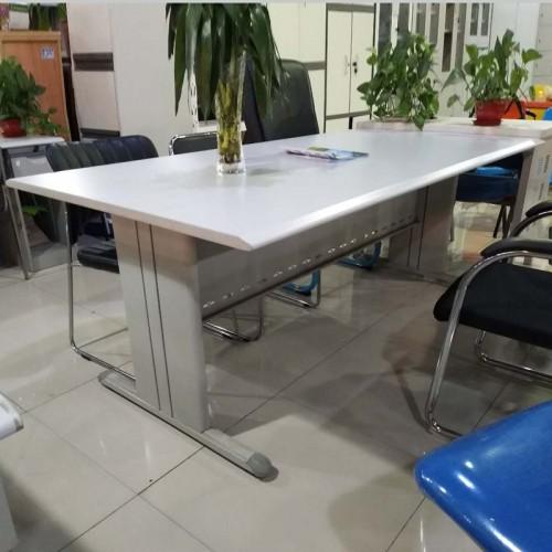 公司会议桌简易长方形洽谈培训桌  01