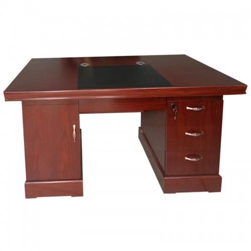 简约办公电脑桌油漆老板桌中班台  03