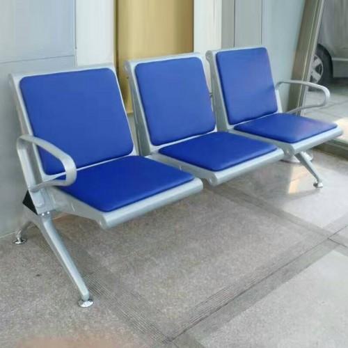 大厅飞机场候车室车间排椅座垫椅  01