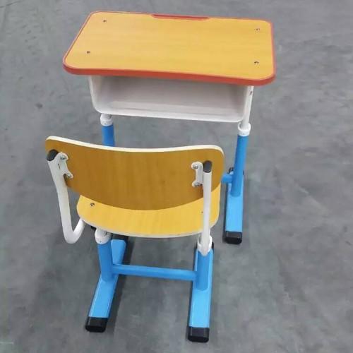 学校培训班辅导班单人课桌椅06