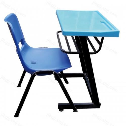 高档塑料台面椅面学生课桌椅16