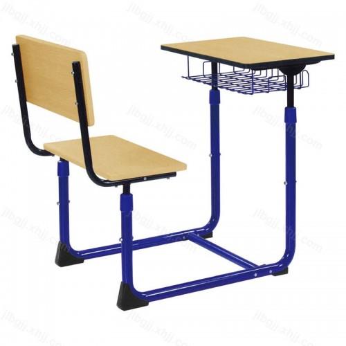 单人连体学生课桌椅学校辅导桌椅22