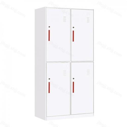 钢制四门薄边更衣柜储物柜JL-A-01