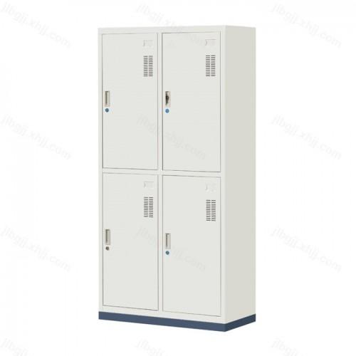 四门更衣柜员工宿舍带锁储物柜JL-B-04