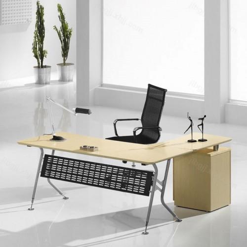 时尚经理办公桌板式主管桌03